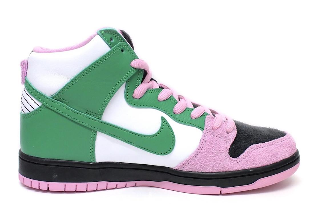 Nike SB Dunk High Invert Celtics Release Date Info