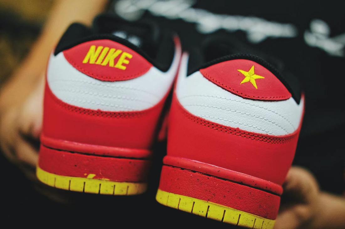 Nike SB Dunk Low Vietnam 25th Anniversary 309242-307 Release Date