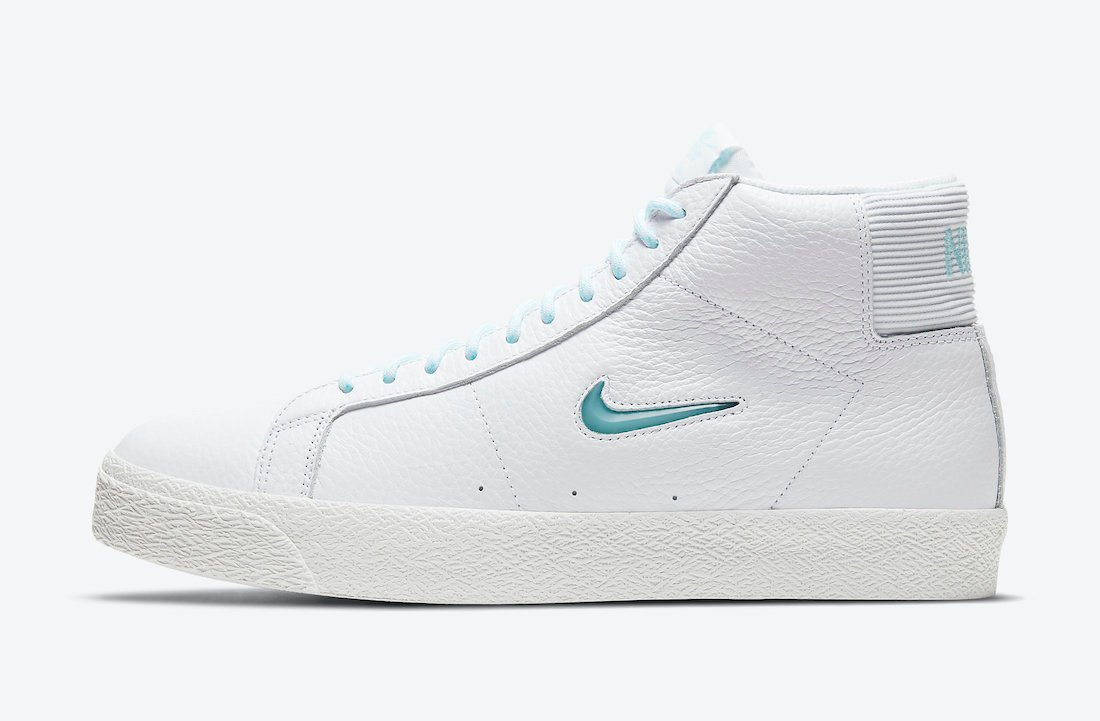 Nike SB Zoom Blazer Mid Premium Glacier Ice CU5283-100 Release Date Info