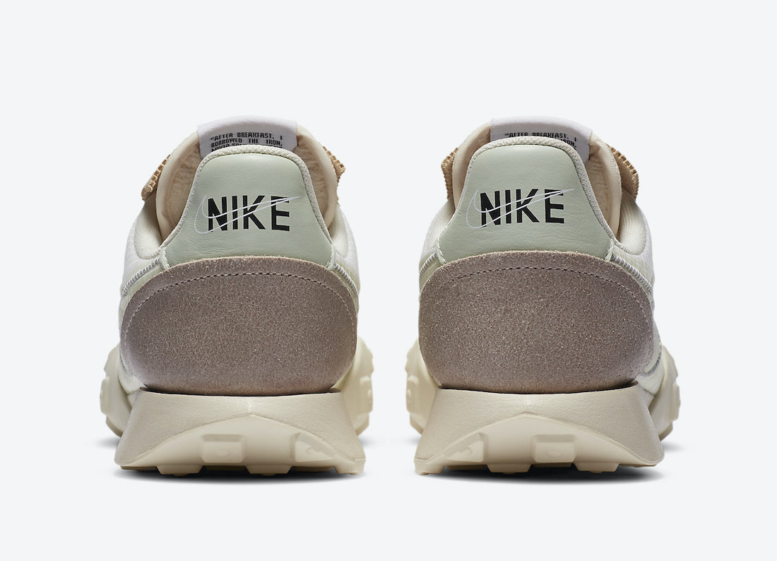 Nike Waffle Racer 2X Pale Ivory Jade Aura CW1274-100 Release Date Info