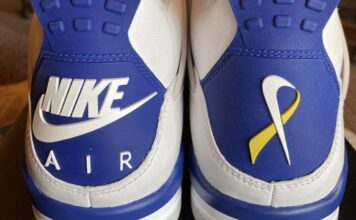 Peyton Smith Air Jordan 4 Make-A-Wish