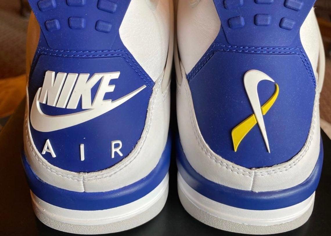 Peyton Smith Air Jordan 4 Make-A-Wish