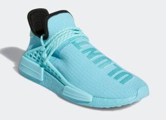 Pharrell adidas NMD Hu Aqua Blue GY0094 Release Date