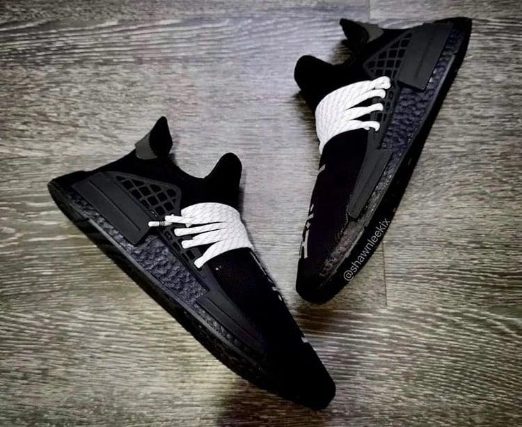 Pharrell adidas NMD Hu Black 2020 Release Date Info