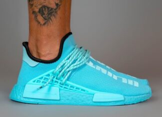Pharrell adidas NMD Hu Blue GY0094 Release Date Info