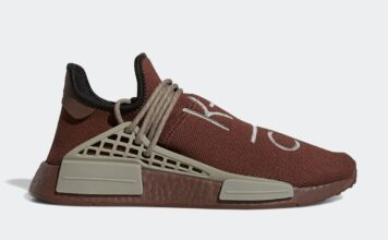 Pharrell adidas NMD Hu Chocolate GY0090 Release