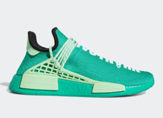 Pharrell adidas NMD Hu Green GY0089 Release Info