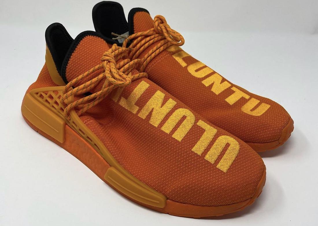 Pharrell adidas NMD Hu Orange GY0095