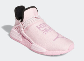 Pharrell adidas NMD Hu Pink GY0088 Release Date