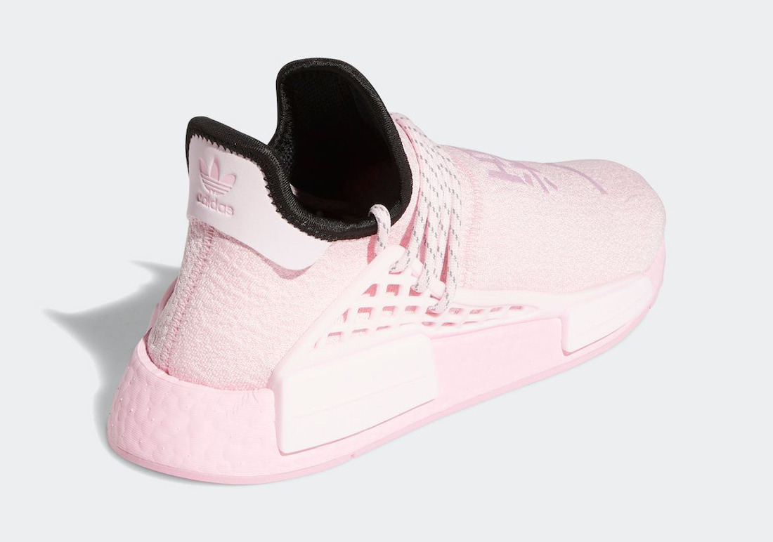 Pharrell adidas NMD Hu Pink GY0088 Release Date
