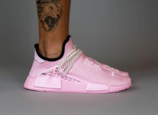 Pharrell adidas NMD Hu Pink GY0088 Release Date Info