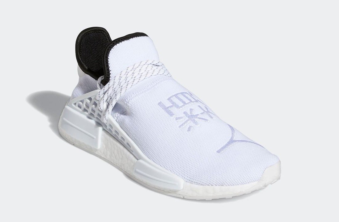 Pharrell adidas NMD Hu White GY0092 Release Date Info