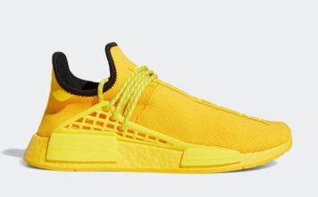 Pharrell adidas NMD Hu Yellow GY0091 Release Date Info
