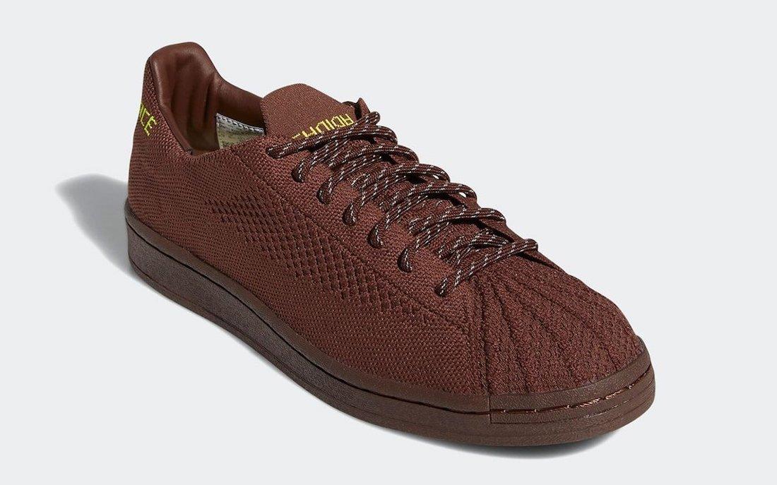 Pharrell adidas Superstar Primeknit Human Race Chocolate Brown S42926 Release Date Info
