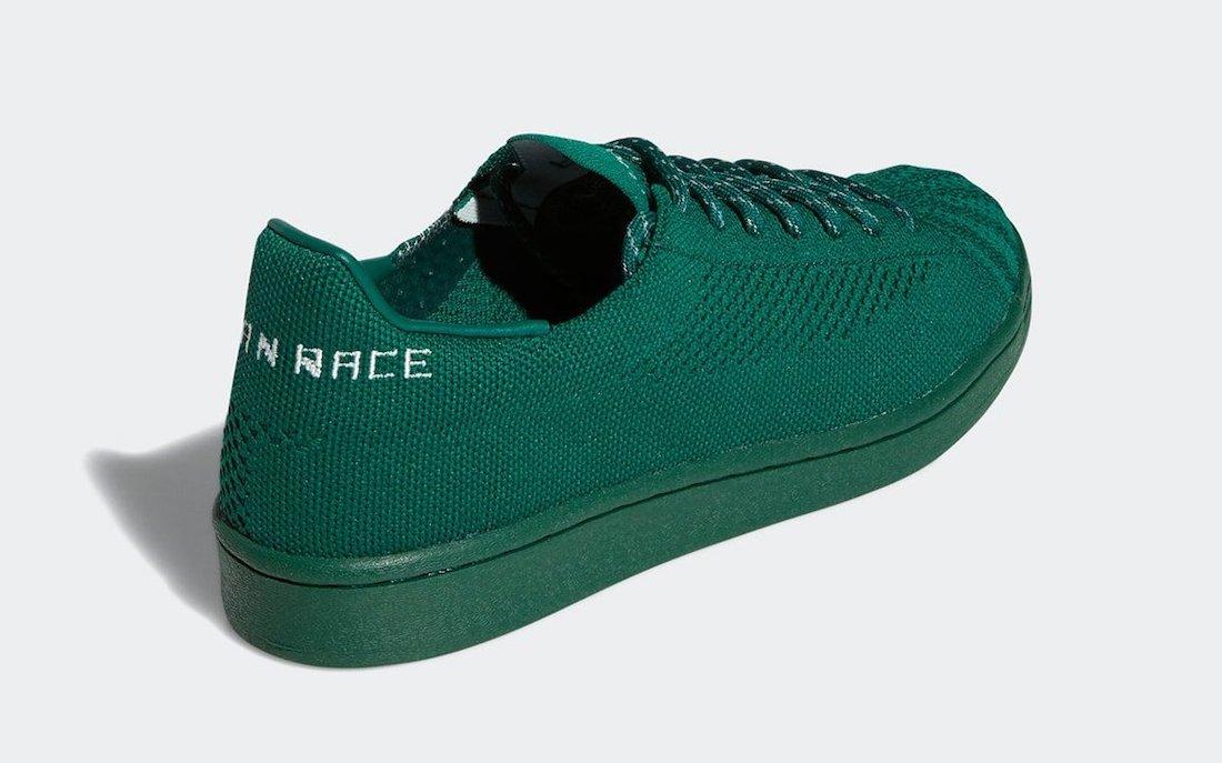 Pharrell adidas Superstar Primeknit Human Race Green S42928 Release Date Info