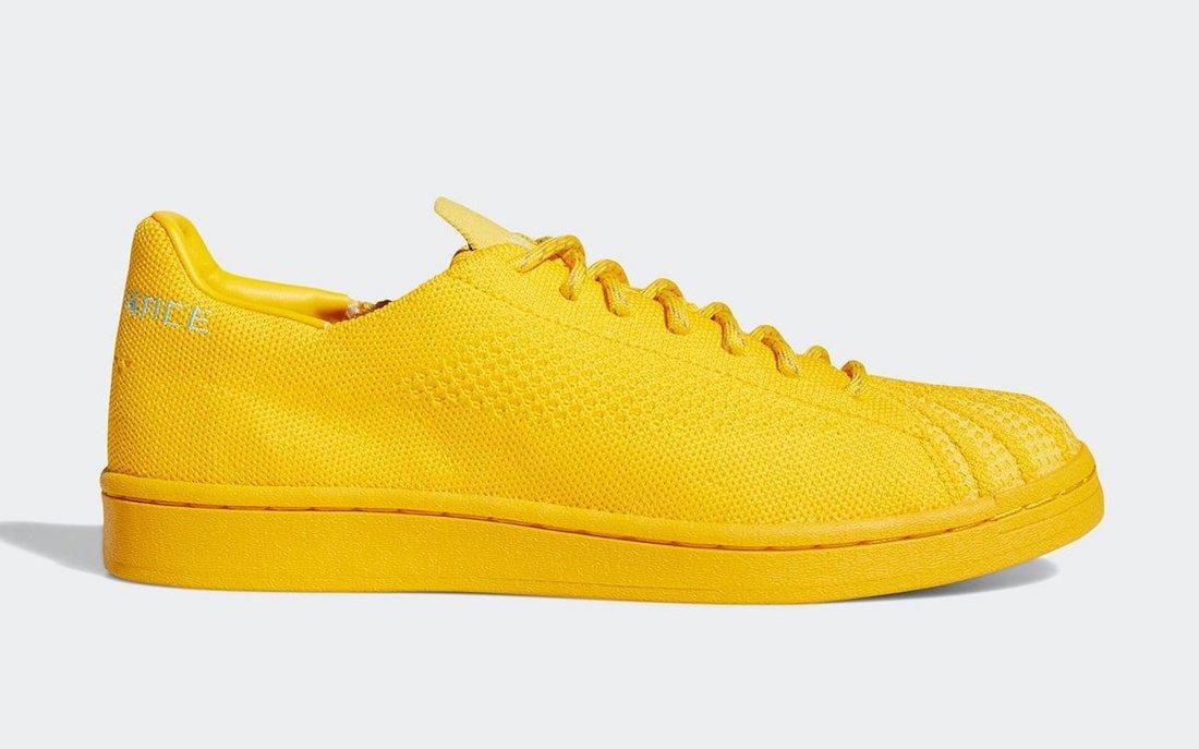 Pharrell adidas Superstar Primeknit Human Race Yellow S42930 Release Date Info