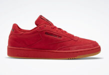 Reebok Club C 85 Red Suede FW6629 Release Date Info