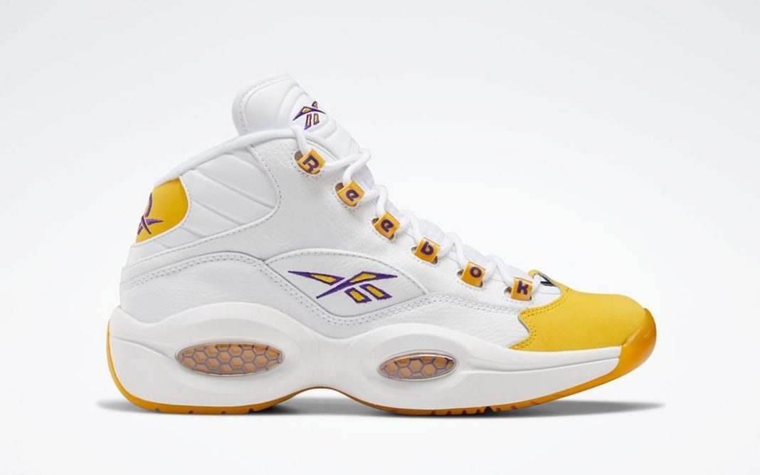 Reebok Question Mid Yellow Toe FX4278