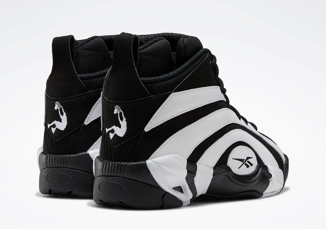 Reebok Shaqnosis Black White FV9284 Release Date Info