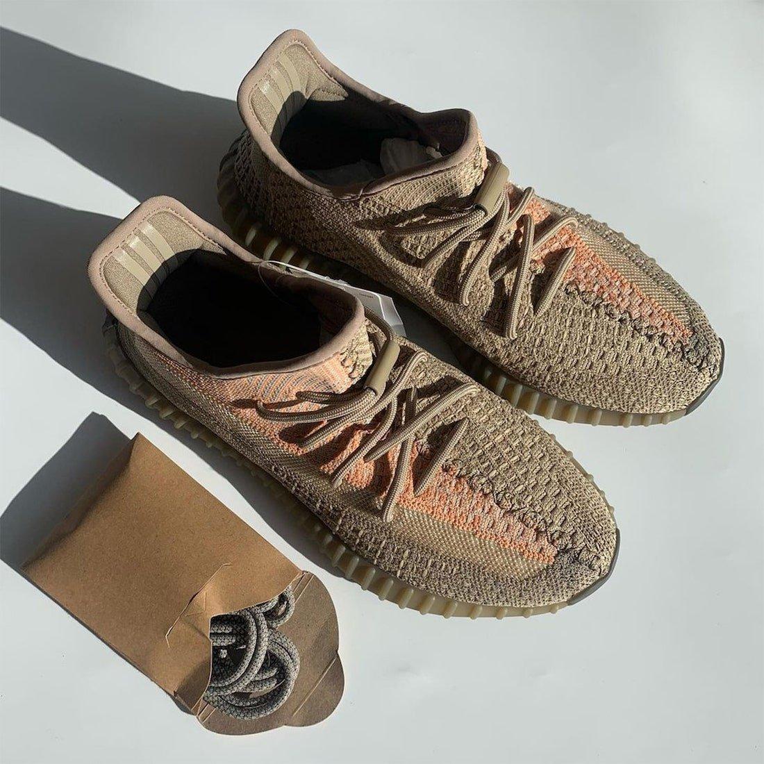 Sand Taupe adidas Yeezy Boost 350 V2 Eliada Release