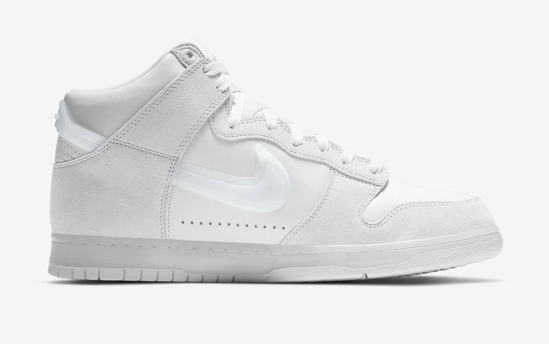 Slam Jam Nike Dunk High White DA1639-100 Release Date