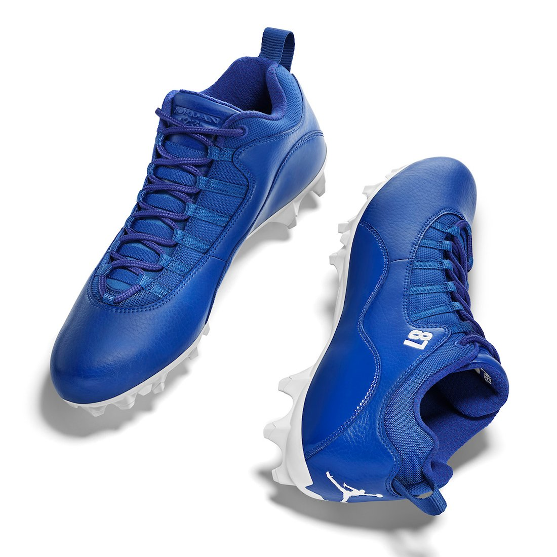 Stephon Glimore Air Jordan 10 NFL 2020 PE Cleats