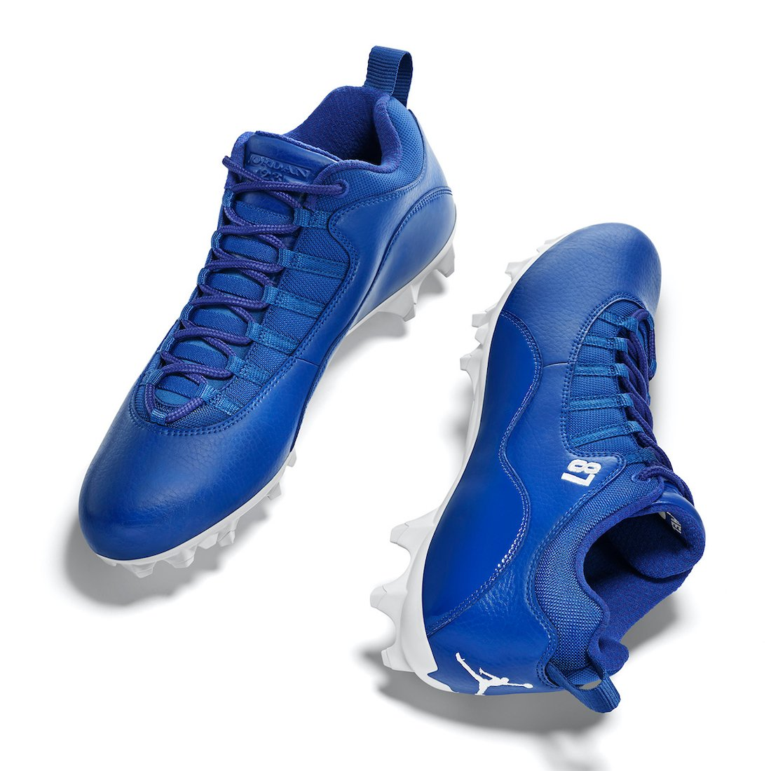 Sterling Shephard Air Jordan 10 NFL 2020 PE Cleats
