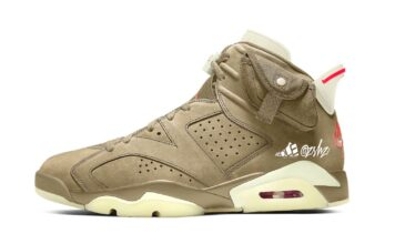 Travis Scott Air Jordan 6 British Khaki DH0690-200 Release Date
