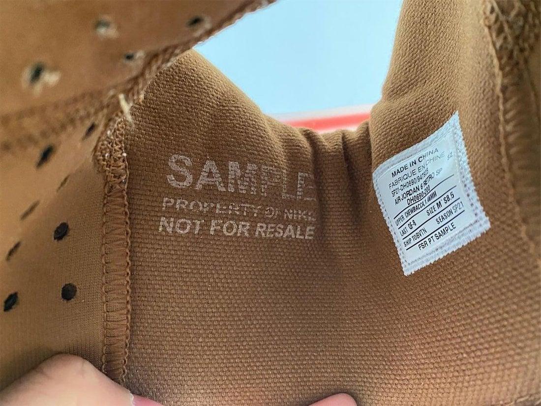 Travis Scott Air Jordan 6 British Khaki DH0690-200 Release Info Price