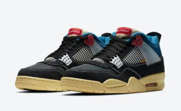 Union Air Jordan 4 Off Noir DC9533-001 Release