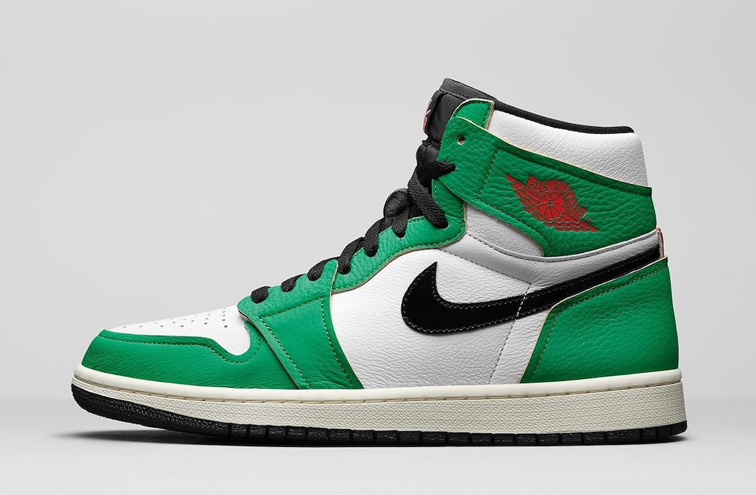Womens Air Jordan 1 High OG Lucky Green DB4612-300