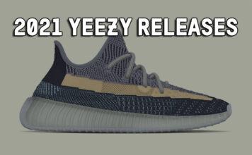 2021 Yeezy Release Dates