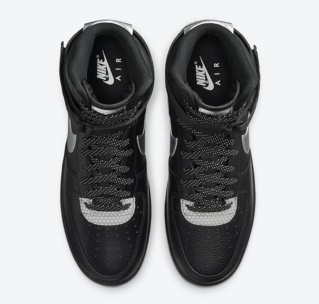 3M Nike Air Force 1 High CU4159-001 Release Date Info