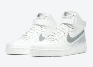 3M Nike Air Force 1 High White CU4159-100 Release Date Info