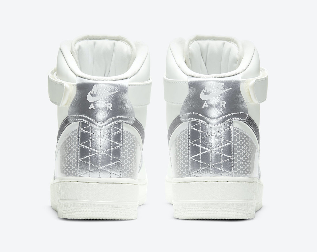 3M Nike Air Force 1 High White CU4159-100 Release Date Info