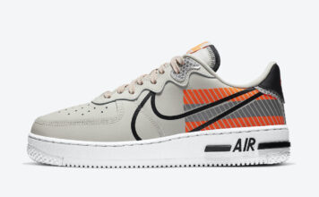 3M Nike Air Force 1 React CT3316-002 Release Date Info