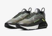 3M Nike Air Max 2090 Black Volt CW8336-001 Release Date Info