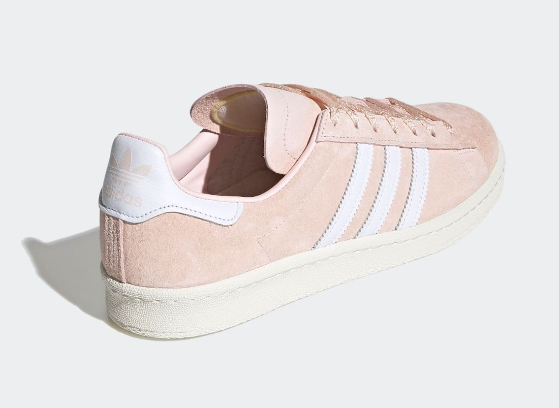 adidas Campus 80s Pink Tint FV0486 Release Date Info
