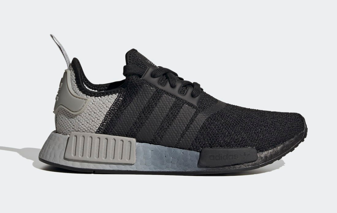 adidas NMD R1 Black Grey FV1791 Release Date Info