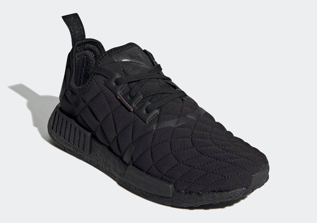 adidas NMD R1 Black Quilt FV1731 Release Date Info