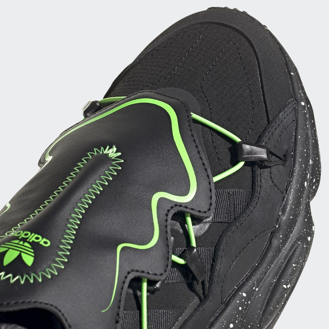 adidas Ozweego Black Green FZ1955 Release Date Info