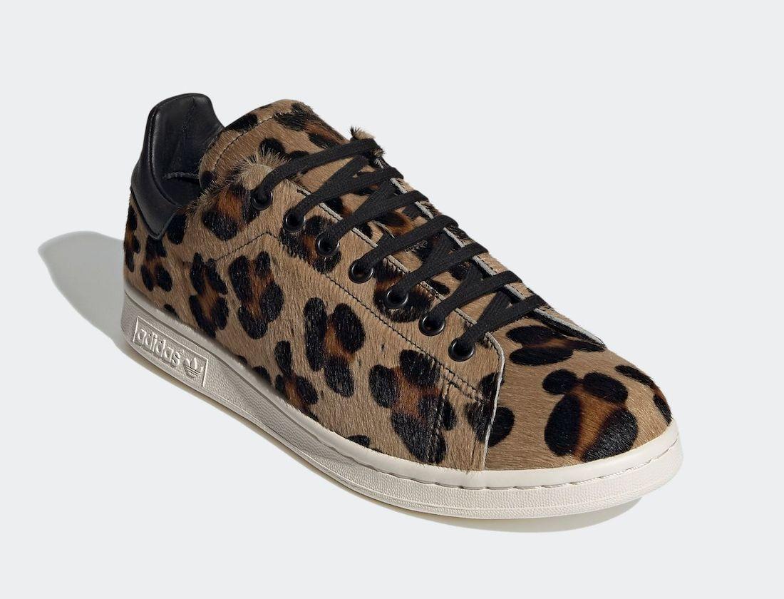 adidas Stan Smith Recon Leopard FZ5466 Release Date Info