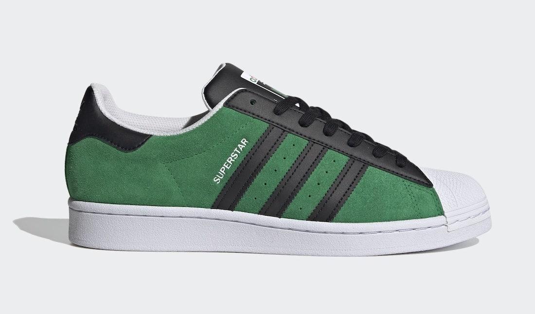 adidas Superstar Green FW7844 Release Date Info