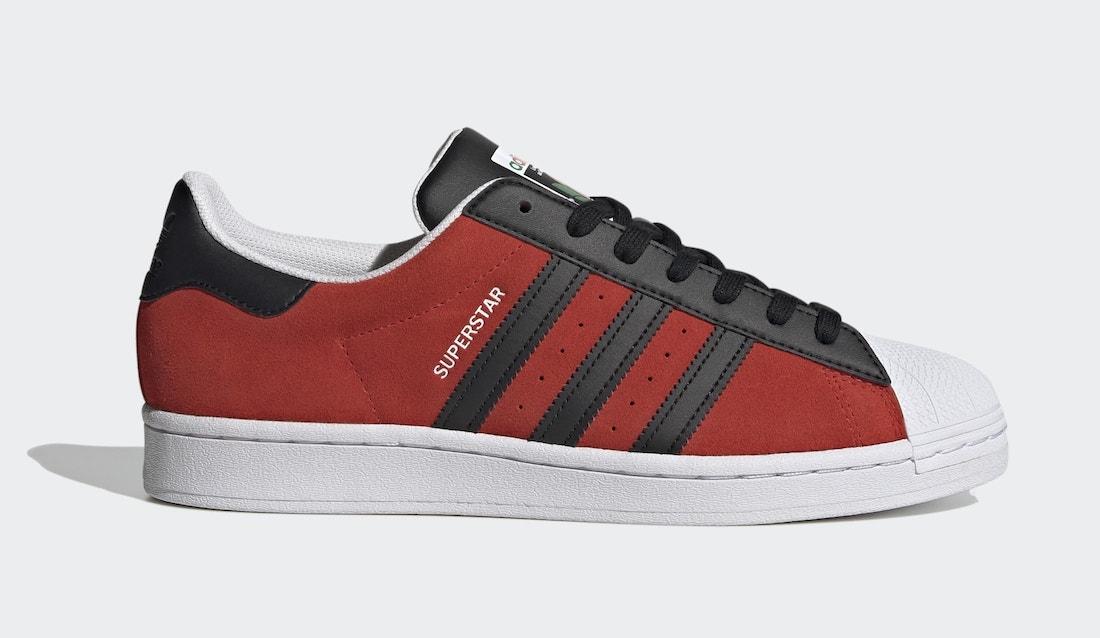adidas Superstar Red FU9522 Release Date Info