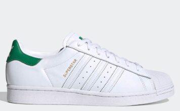 adidas Superstar White Green FZ3642 Release Date Info