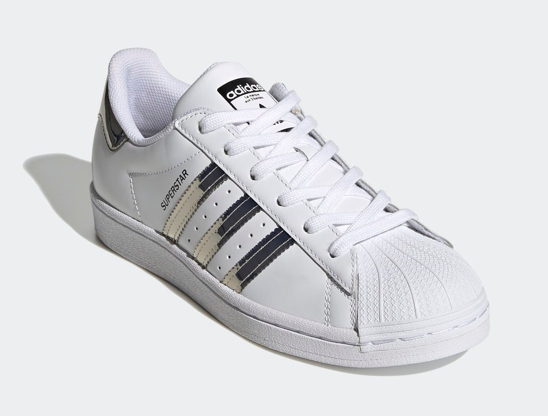 adidas Superstar White Silver Metallic FW3915 Release Date Info | Iicf
