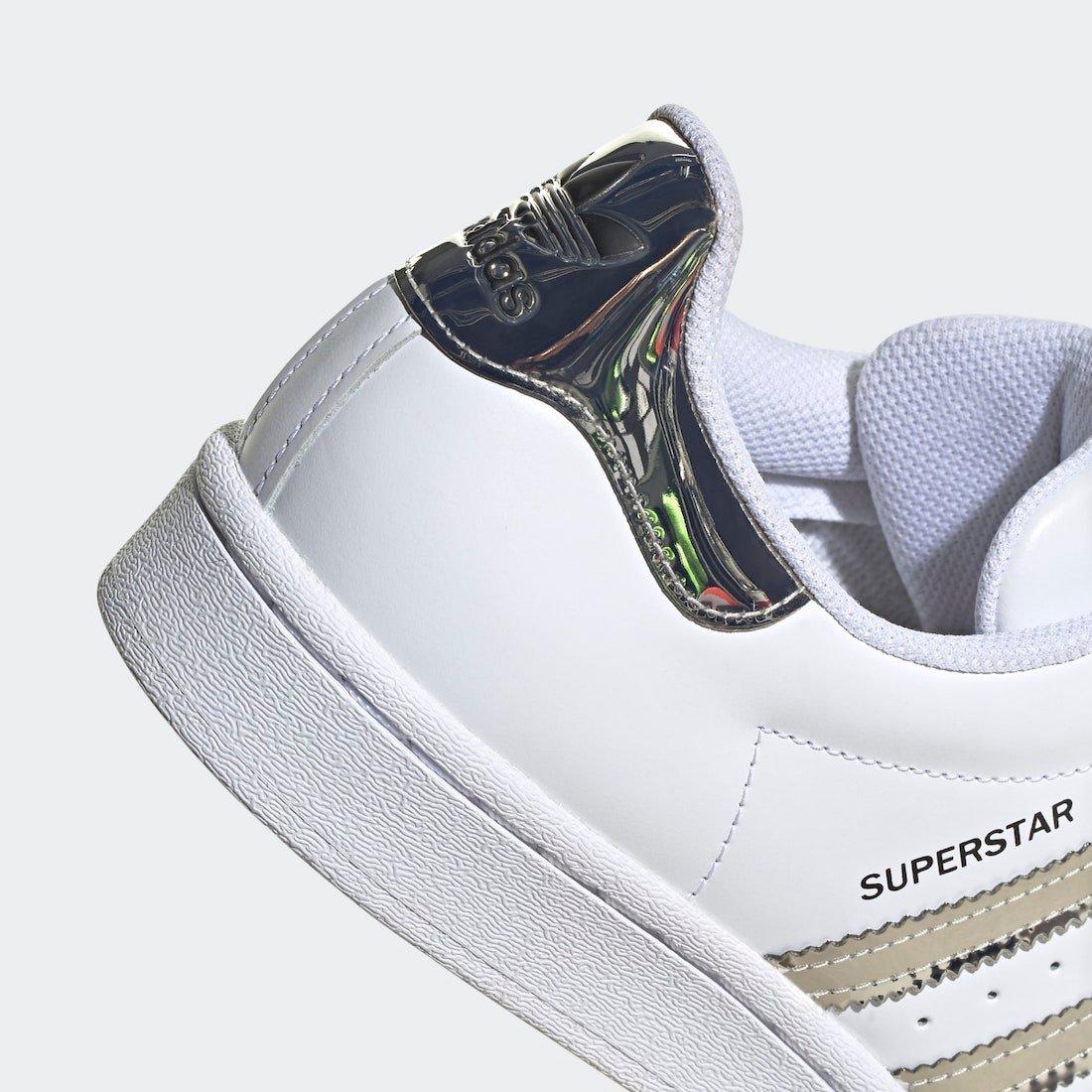 adidas Superstar White Silver Metallic FW3915 Release Date Info