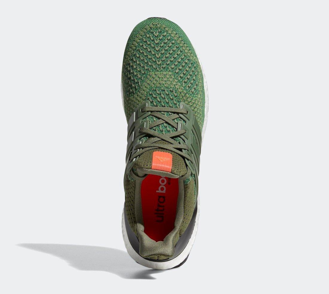 adidas Ultra Boost 1.0 Olive Base Green AF5837 Release Date Info