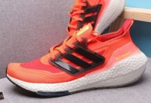 adidas Ultra Boost 2021 Solar Red