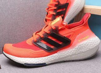 adidas Ultra Boost 2021 Solar Red